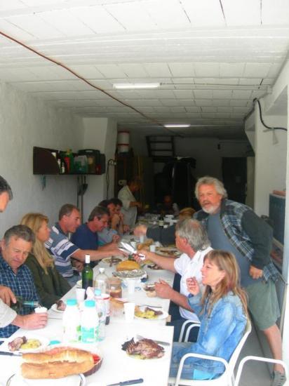 2007 Le repas de chantier